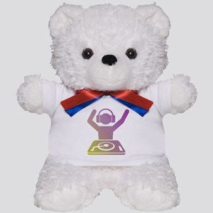 Colorful DJ Teddy Bear