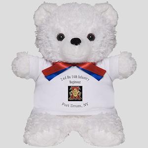 2nd 14th Inf Reg Teddy Bear