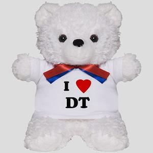 I Love DT Teddy Bear