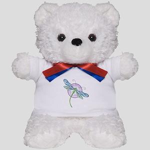 Whimsical Dragonfly Teddy Bear