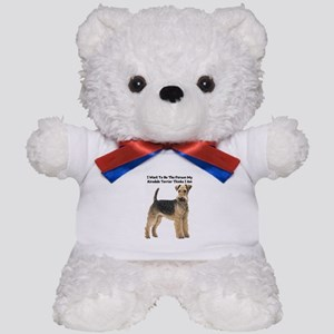 Airedale Terrier Teddy Bear