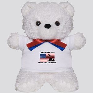 Land Of The Free Thanks To The Brave Teddy Bear