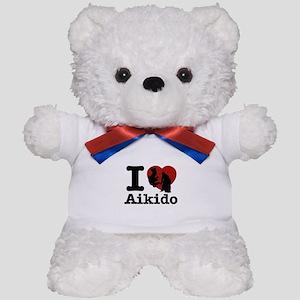 Aikido Heart Designs Teddy Bear