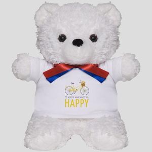 Makes You Happy Teddy Bear
