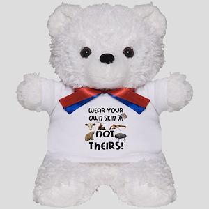 Wear Own Skin Variety Teddy Bear