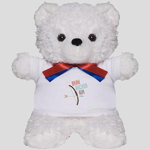 Draw Anchor Aim Teddy Bear