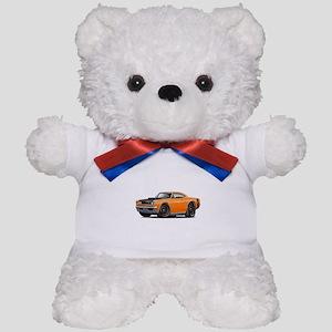 1969 Super Bee A12 Orange Teddy Bear