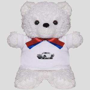 1969 Coronet White Car Teddy Bear
