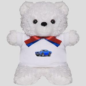 1969 Super Bee Blue Car Teddy Bear