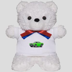 1969 Super Bee Lime Car Teddy Bear