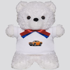 1969 Super Bee Orange Car Teddy Bear