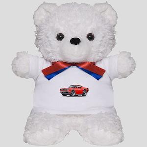 1969 Super Bee Red-Black Car Teddy Bear