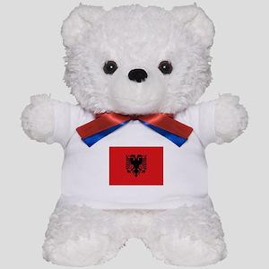 Albanian flag Teddy Bear