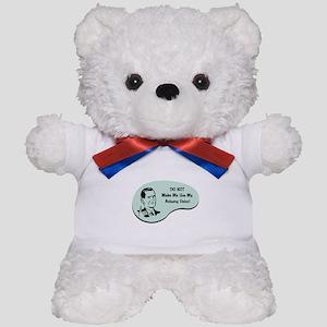 Actuary Voice Teddy Bear