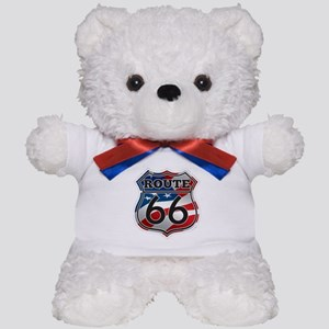 Route 66 Teddy Bear