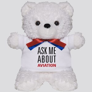 Aviation - Ask Me About Teddy Bear