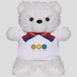 Peace Love Acupuncture Teddy Bear