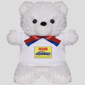 """1946 Packard Slogan"" Teddy Bear"