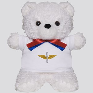 Aviation Branch Insignia Teddy Bear