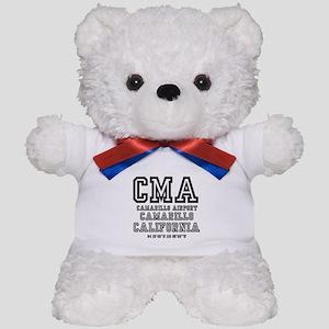 AIRPORT JETPORT CODES - CMA - CAMARILL Teddy Bear