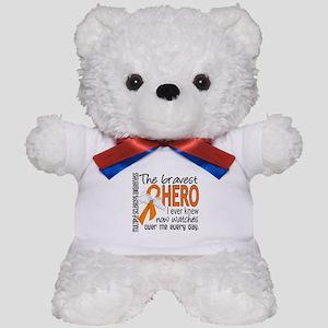 Bravest Hero I Knew Multiple Sclerosis Teddy Bear