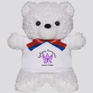 Epilepsy Butterfly 6.1 Teddy Bear