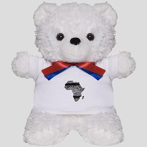AFRICA Teddy Bear