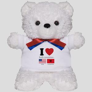 USA-ALBANIA Teddy Bear