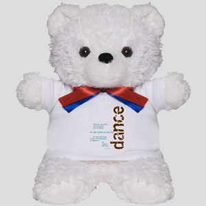 Dance the Rhythm of your Life Teddy Bear