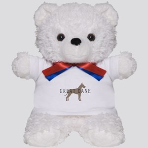 great dane greytones Teddy Bear