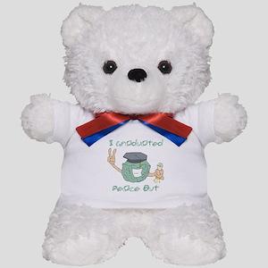 I Graduated, Peace Out Teddy Bear