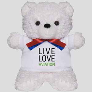 Live Love Aviation Teddy Bear