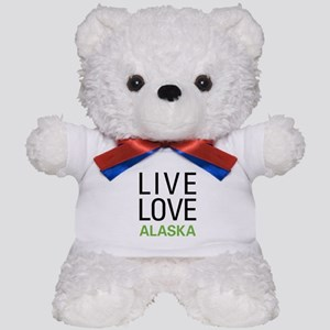 Live Love Alaska Teddy Bear