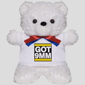 got 9mm yellow Teddy Bear