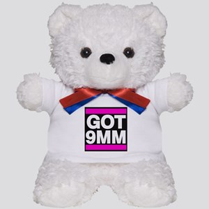 Got 9mm pink Teddy Bear