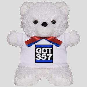 got 357 blue Teddy Bear