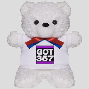 got 357 purple Teddy Bear