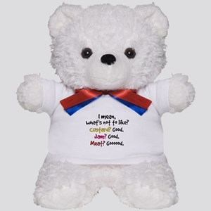 'What's Not To Like?' Teddy Bear