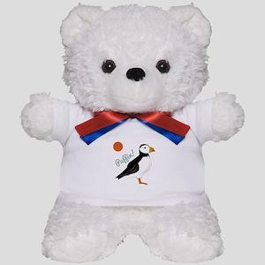 Puffin! Bird Teddy Bear