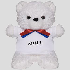 Evolution Ski Teddy Bear