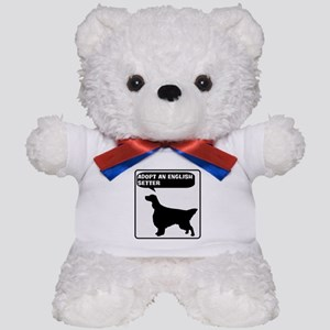 Adopt a English Setter Teddy Bear