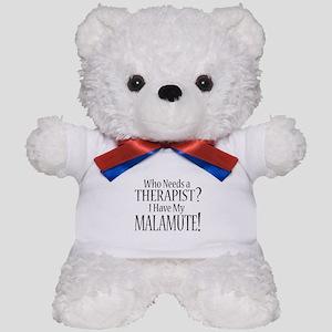 THERAPIST Malamute Teddy Bear