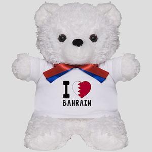I Love Bahrain Teddy Bear
