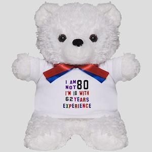 80 Birthday Designs Teddy Bear