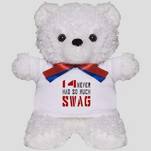 14 Swag Birthday Designs Teddy Bear