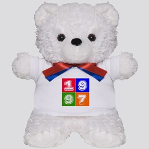 1997 Birthday Designs Teddy Bear
