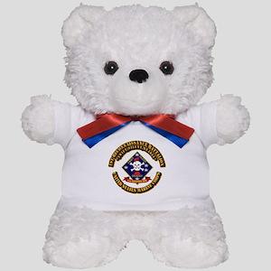 1st - Reconnaissance Bn With Text USMC Teddy Bear