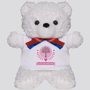 45th Anniversary Love Tree Teddy Bear