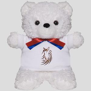 Brown Horse Head Teddy Bear