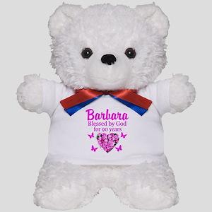 BLESSED 90TH Teddy Bear